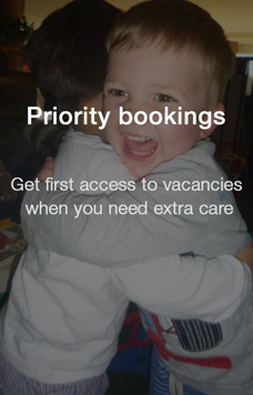Priority Bookings